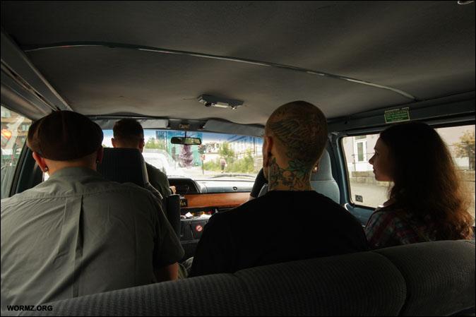 Autolla Oslossa