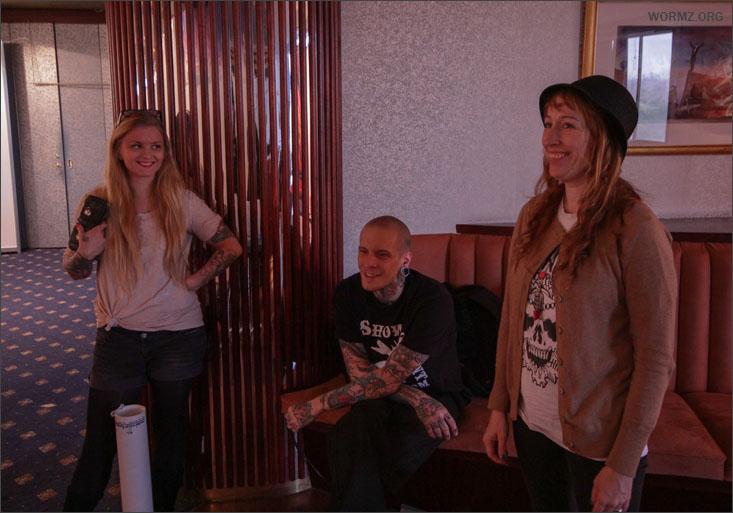 Linda, Jussi, Noora