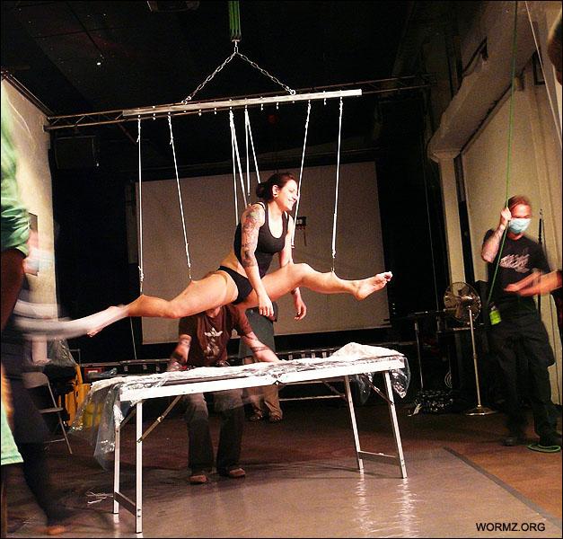 Split suspension