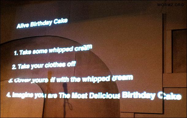 Alive birthday cake