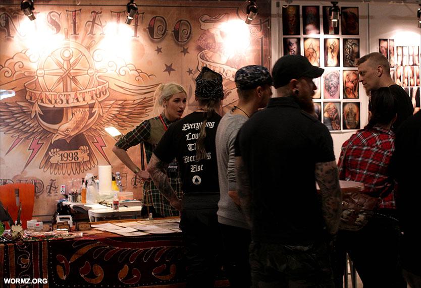 JKL tattoo convention