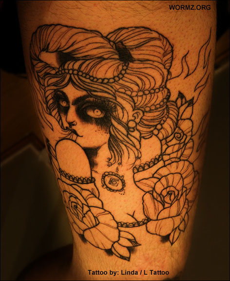 Linda Räihän tekemä tatuointi