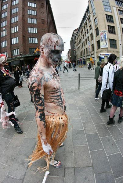 Mechanical Demon zombie