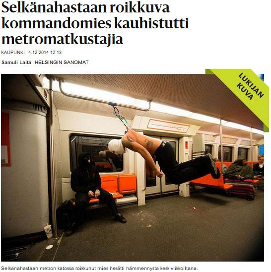 Supersankari Suspension Team metrokommando