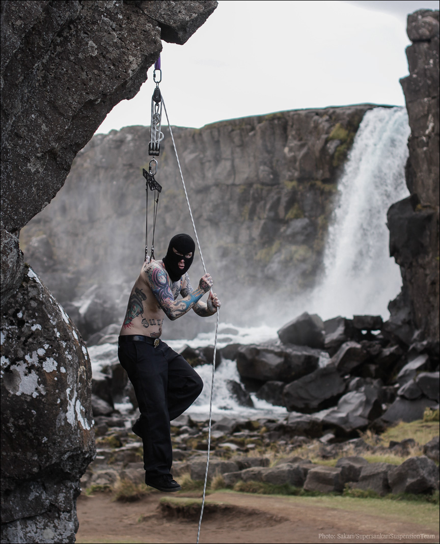 Jussi suicide vesiputouksella