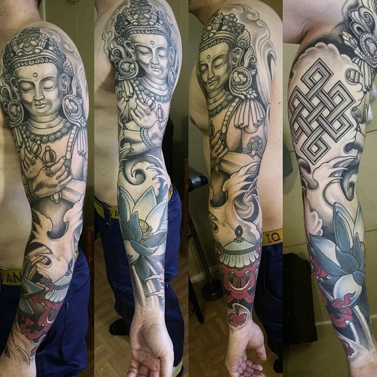 Buddha tatuointi