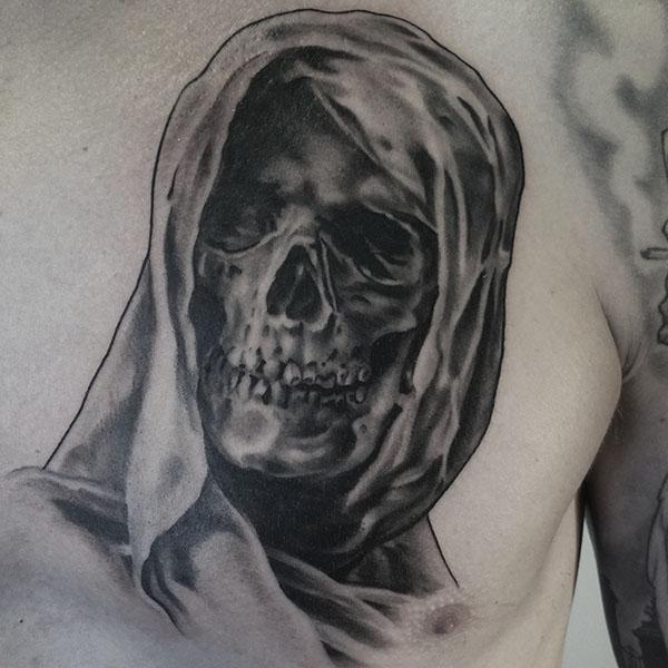pääkallo tatuointi
