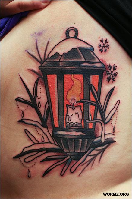 Lamppu tatuointi