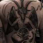Baphomet tatuointi