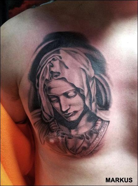 Neitsyt Maria tatuointi