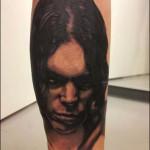 Portrait tatuointi