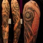 Biomech tatuointi