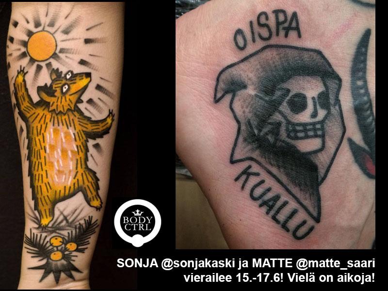 Sonja Kaski Matte Saari